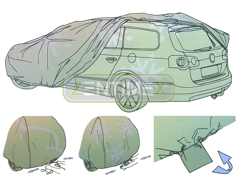 Vollgarage für Subaru Legacy 2 BD BG Station Wagon Kombi 5-türer 02.94-12.99