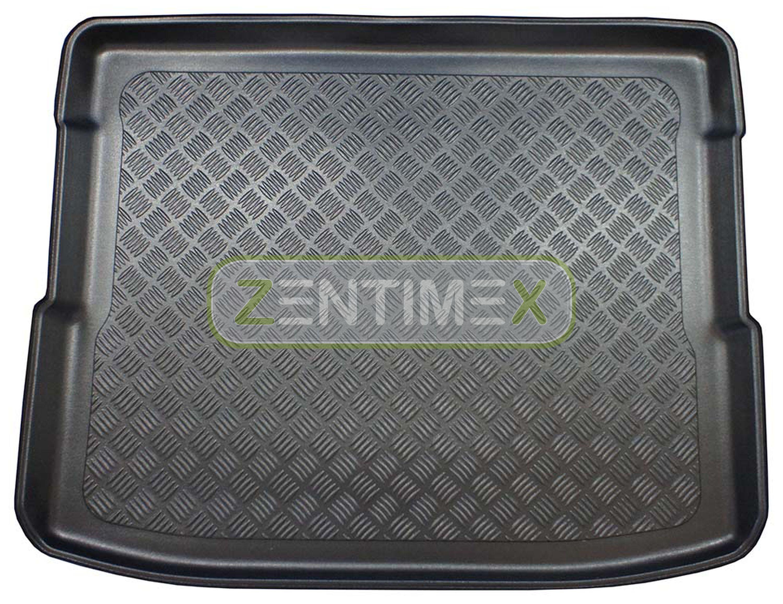 Geriffelte Kofferraumwanne für Ford Tourneo Courier Titanium Hochdachkombi 2014-