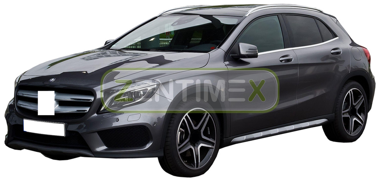 Geriffelte Kofferraumwanne für Mercedes GLA-Klasse Urban X156 X 156 Steilheck Ge
