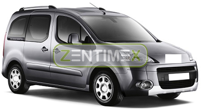 Z330265 SET Kofferraumwanne Gummifußmatten für Peugeot Partner Tepee Outdoor 2 K